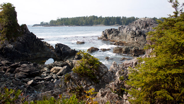 Hot Springs Cove in Maquinna Provincial Park
